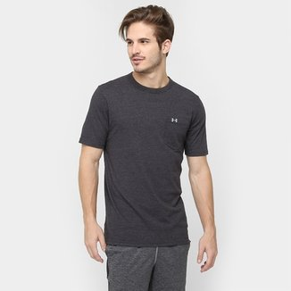 60621e64e13 Camiseta Under Armour Tri-Blend Pocket Masculina