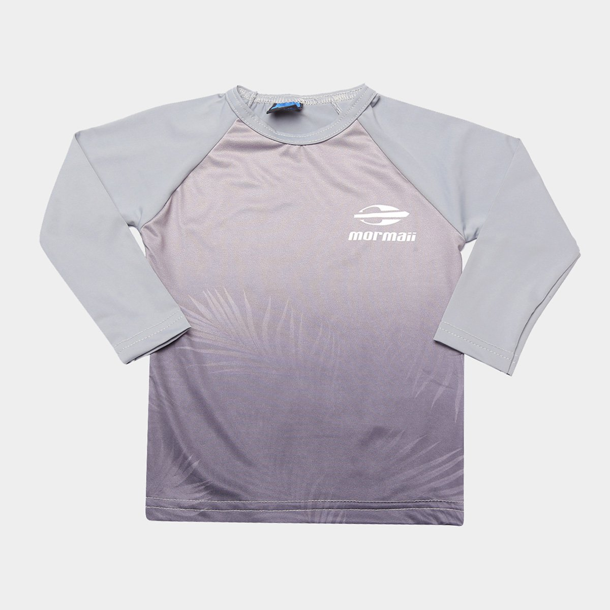 Camiseta Infantil Mormaii Estampada Manga Longa Masculina