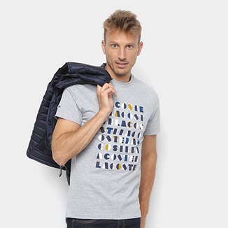 2ae9dd0fed9 Camisetas Lacoste - Ótimos Preços