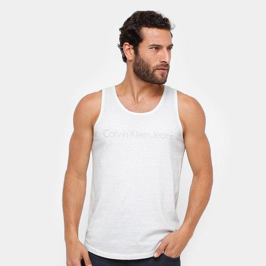 fec7de5f2746b Regata Calvin Klein Tinturada Stone Masculina - Compre Agora