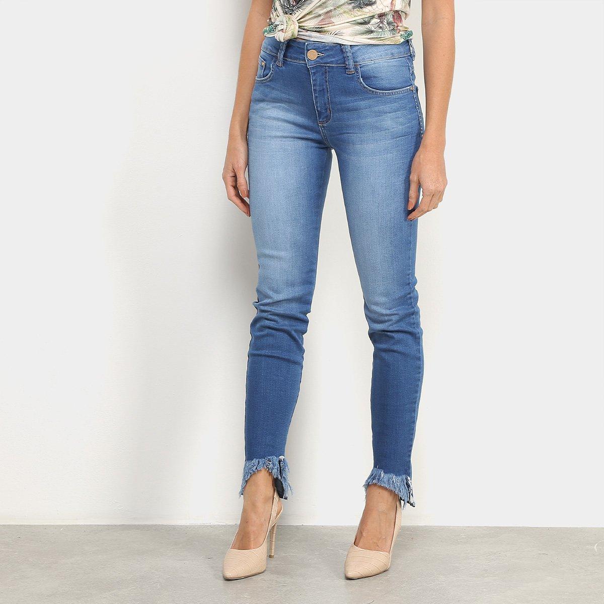 Calça Jeans Forum Marisa Estonada Feminina