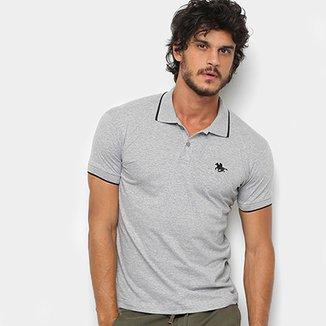 Camisa Polo RG 518 Meclada Básica Masculina 165ff185016