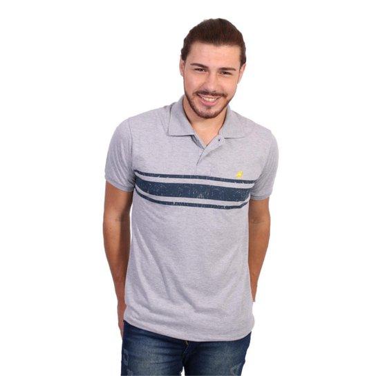 Camisa Polo England Polo Club Listrada - Cinza Claro - Compre Agora ... ebd37faea7781