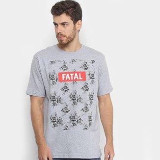 ac7fa4f66a Camisetas Masculino Cinza Claro