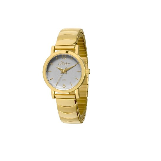 31d0cd72faea4 Relógio Condor Eterna Mini - Dourado e Branco - Compre Agora