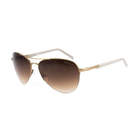 6eaa2d341 Óculos Speedo De Sol - Dourado+Branco