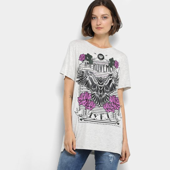 84f74f3edf Camiseta My Favorite Thing (s) Alongada Feminina - Compre Agora ...