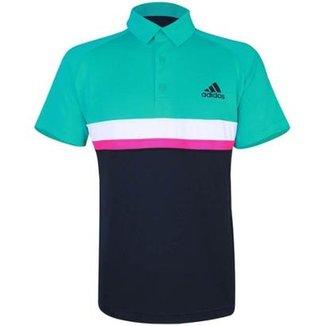 d2b2c43603 Camisas Polo Masculinos Adidas - Ótimos Preços
