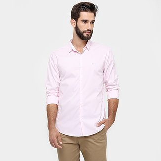 Camisa Calvin Klein Slim Fit Lisa d37ab99dfb0