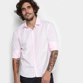 e3fe248e8 Camisa Ellus Tricoline Italiana Slim Masculina
