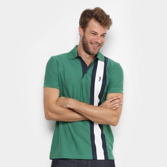 40ce91e1fe Camisa Polo Aleatory Listras Verticais Masculina - Compre Agora ...