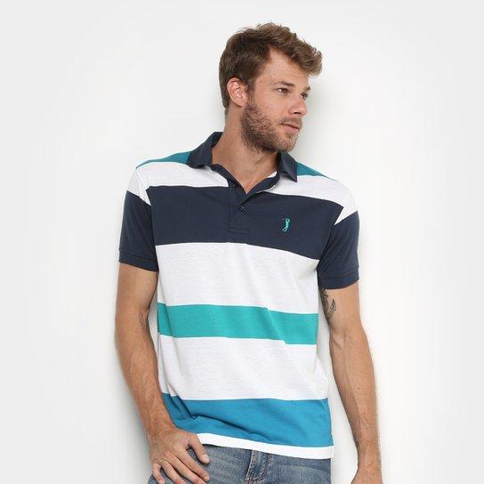 Camisa Polo Aleatory Fio Tinto Listras Masculina - Compre Agora ... f801dc3107089