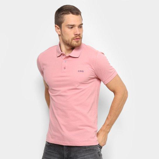 3dce41d048366 Camisa Polo Dimy Básica Masculina - Rosa Claro - Compre Agora