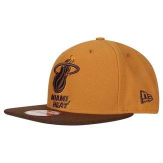 5aa19183cc3e7 Boné New Era 950 Of Sn NBA Miami Heat