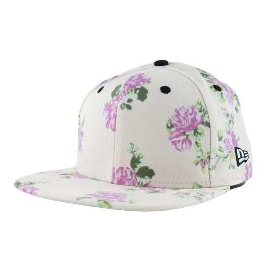 d076609938358 Boné New Era Floral - Snapback - Compre Agora