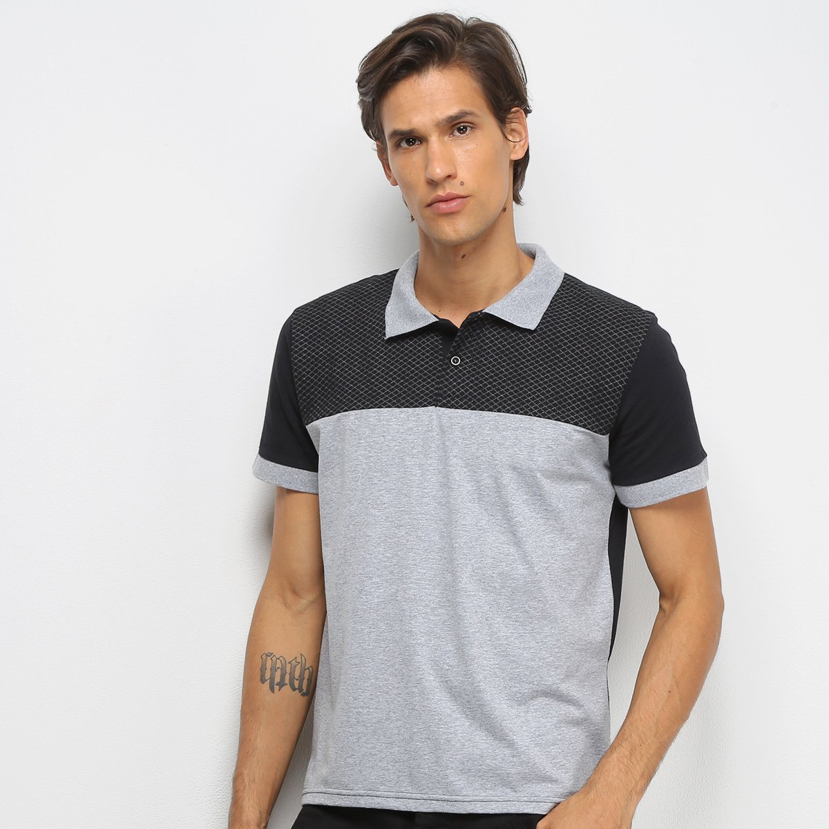 Camisa Polo Burn Clock Masculina