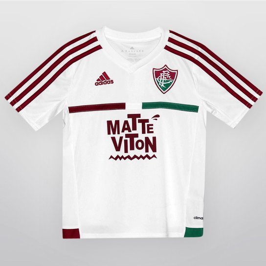 4912d987936da Camisa Adidas Fluminense II 2015 s nº Infantil - Compre Agora