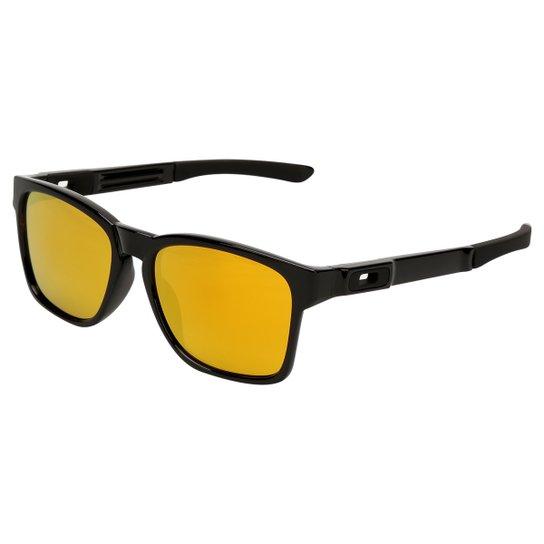 53f8f429d0a22 Óculos Oakley Catalyst-Iridium - Preto e Amarelo - Compre Agora ...