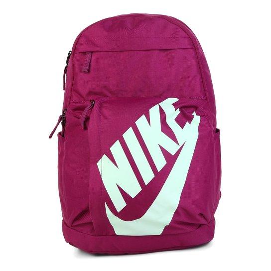 a40732aa4 Mochila Nike Elmntl - Roxo+Verde