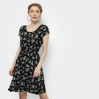 8d3147b21 Vestido Estampado Floral Pérola Feminino