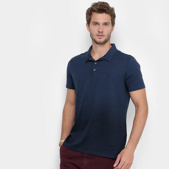 Camisa Polo Reserva Degradê Masculina - Azul Petróleo - Compre Agora ... 8dd2f83aec214