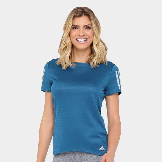 Camiseta Adidas Response Feminina - Compre Agora  2a8de4f8afc