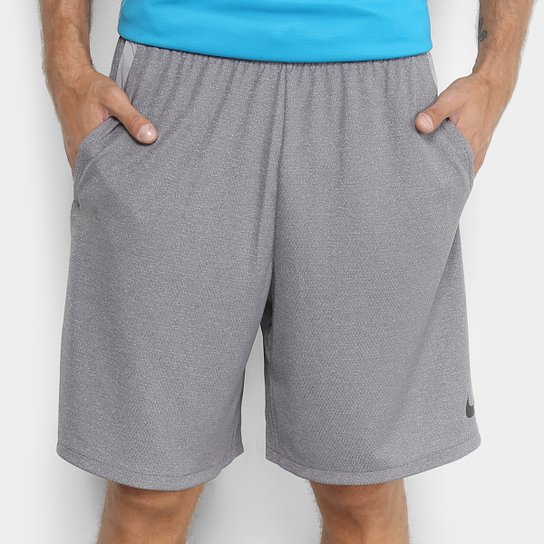 Bermuda Nike Dry 4.0 Masculina - Grafite e Preto - Compre Agora ... f021c132afe6c
