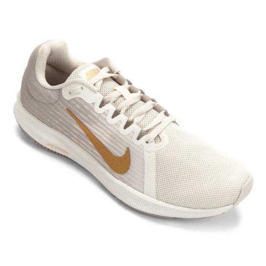 f152e06f6b1 Tênis Nike Wmns Downshifter 8 Feminino - Cinza e Dourado - Compre ...