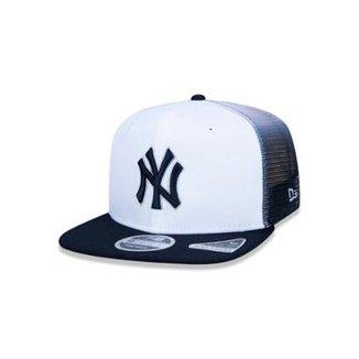 50e39b1f37278 Boné 920 New York Yankees MLB Aba Curva New Era