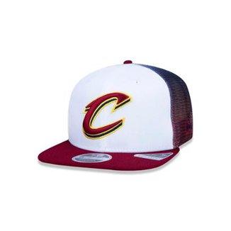 Boné 920 Cleveland Cavaliers NBA Aba Curva New Era bfc18720b44