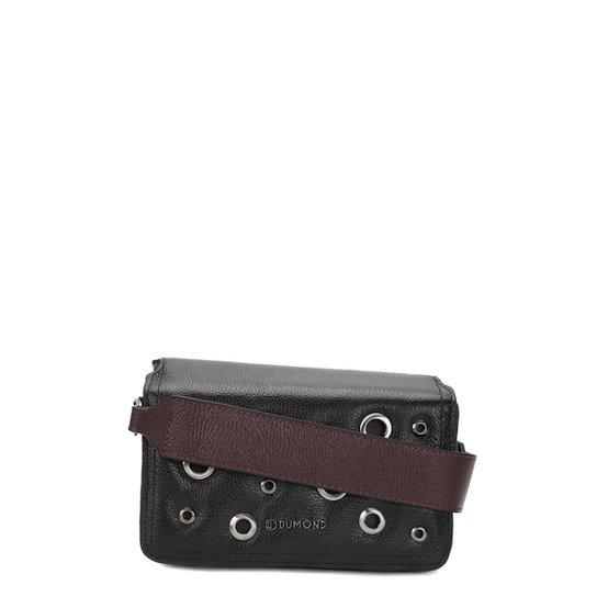 Bolsa Couro Dumond Mini Bag Tampa Ilhós Feminina - Compre Agora ... 7b53b9e372
