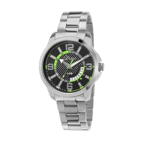 92aa3f8bf7d Relógio Condor Coleção Speed - Prata e Verde - Compre Agora