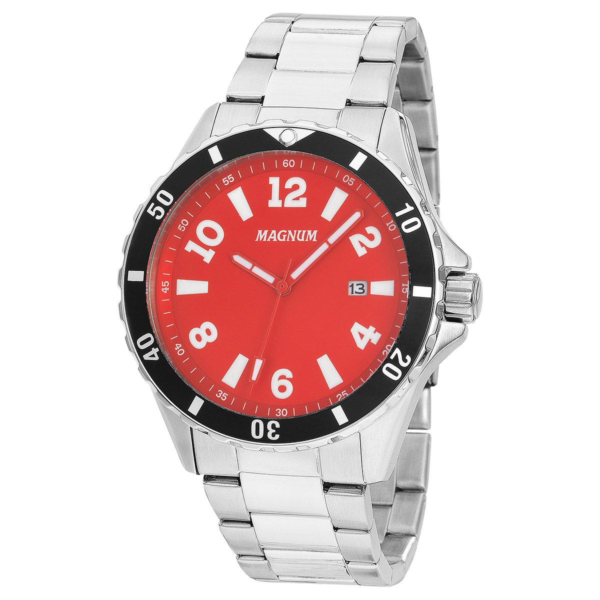 4217f18123a Relógio Magnum Analógico MA35002V Masculino