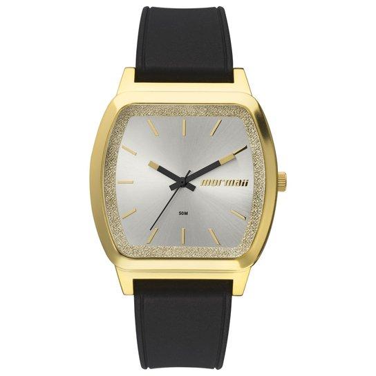 38bf8e0262b Relógio Mormaii Feminino Luau - MO2036EY 8P MO2036EY 8P - Dourado+Preto