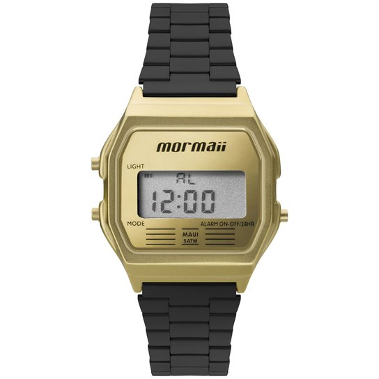 50907bbe222 Relógio Mormaii Feminino Sunset - MOJH02AK 4D MOJH02AK 4D - Dourado+Preto