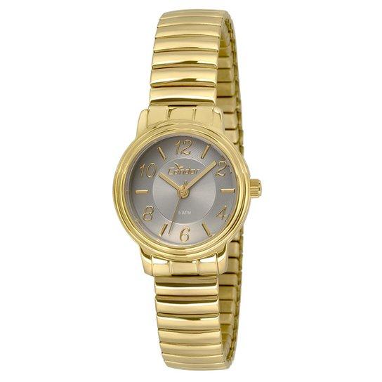 7e5250e5af6 Relógio Condor Feminino Mini - Dourado e Preto - Compre Agora