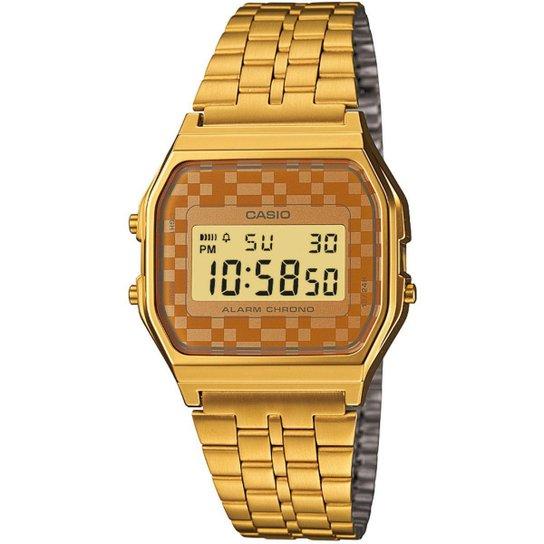 b73e399558 Relógio Casio Vintage A159WGEA-9A - Dourado e Bege - Compre Agora ...