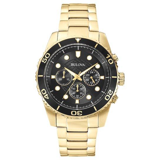 458ca9a31f2 Relógio Bulova Analógico WB31989U Masculino - Compre Agora