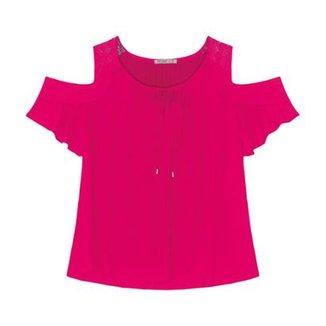 Blusa Secret Glam Feminina 1db8cd872901c