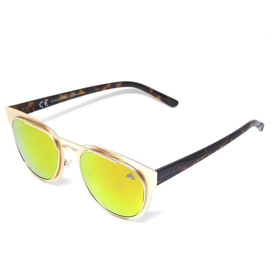Óculos De Sol Fashion Cayo Blanco - Rosa e Marrom - Compre Agora ... 67862ead85