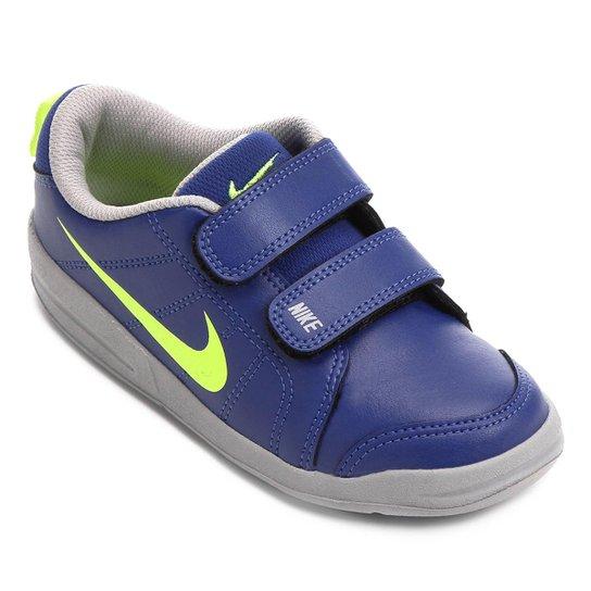 790f694aeb3 Tênis Infantil Nike Pico Lt - Azul e Dourado - Compre Agora