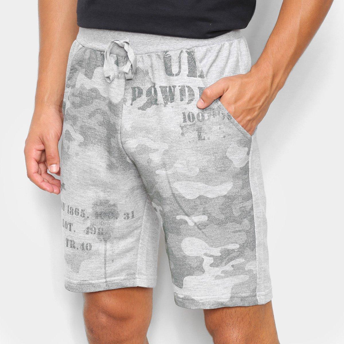 Bermuda Ultimato Moletinho Camuflada Masculina