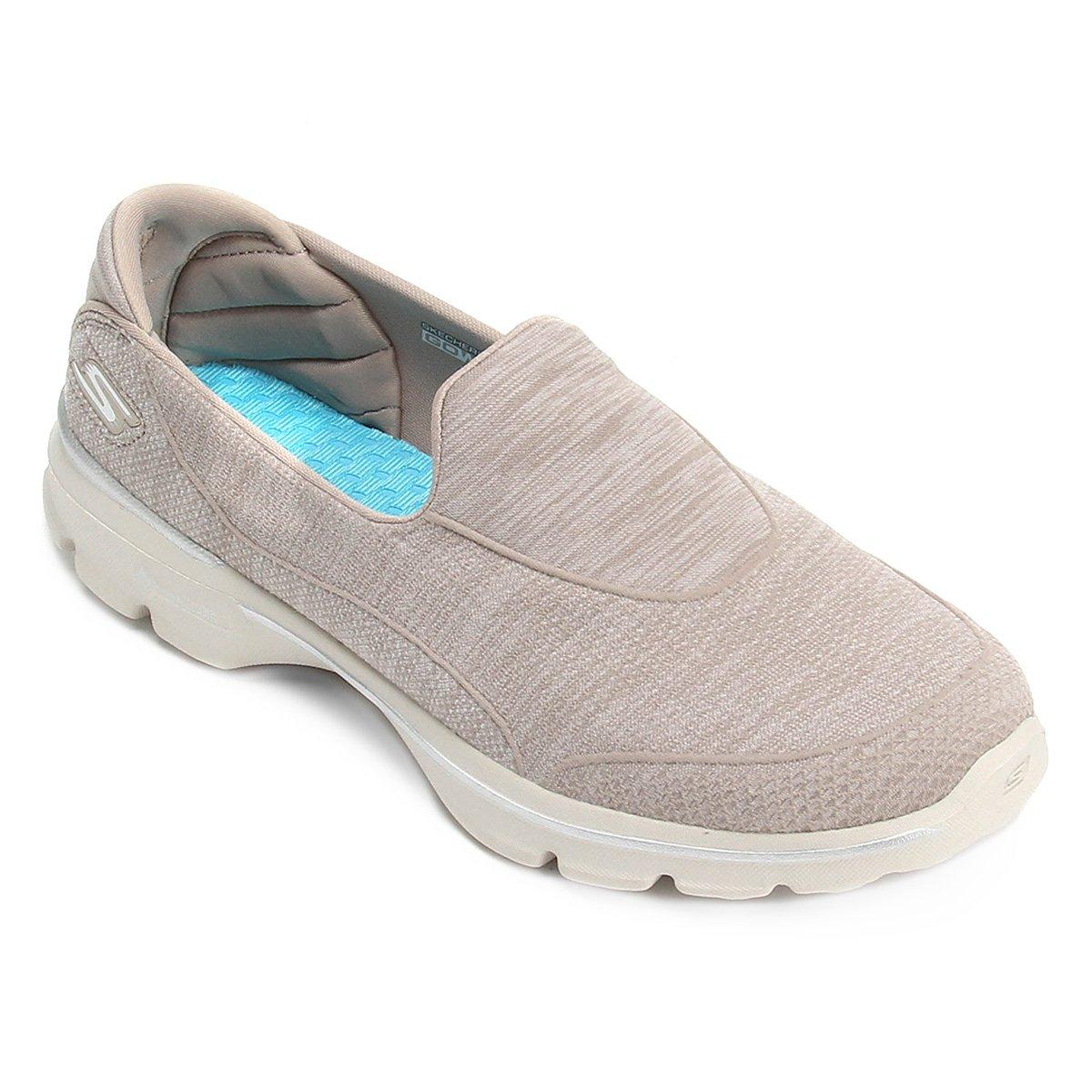 d3de0480c9 Sapatilha Skechers Go Walk 3 - Super So Feminina