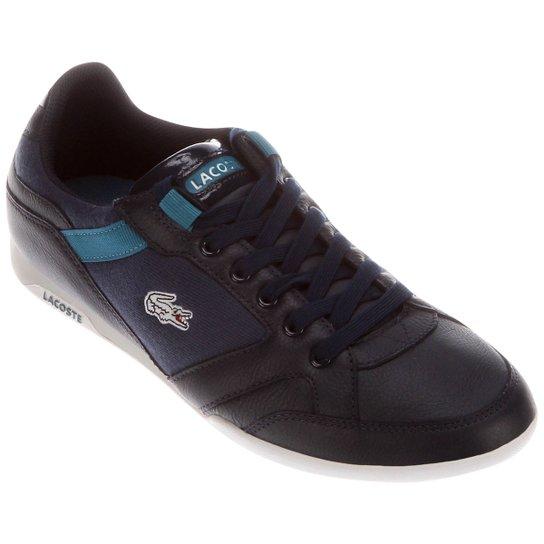 Tênis Lacoste Telesio Lsp - Marinho e Azul - Compre Agora   Zattini 1bbe08bbd5
