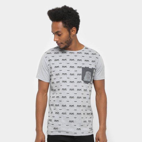 370752fcdc Camiseta Disney Star Wars Pocket Masculina - Compre Agora