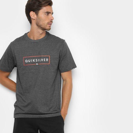 Camiseta Quiksilver Básica Box Masculina - Compre Agora  95ba8eaf0d3