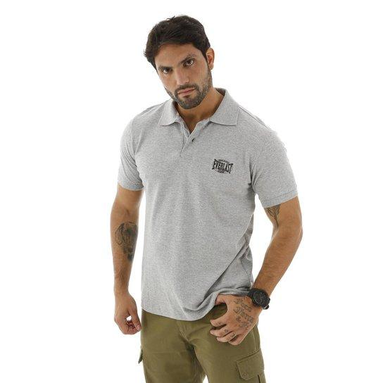 153d9c44dc Camisa Polo Everlast Algodão Básica Masculina - Mescla - Compre ...