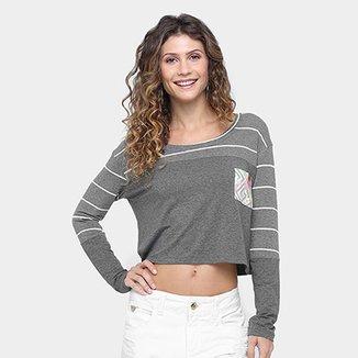a042a87817 Camiseta Hang Loose Mirante Manga Longa Feminina