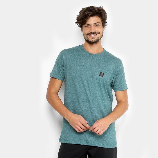 1db34366c0c Camiseta Hang Loose Silk Basicback Masculina - Azul Piscina - Compre ...