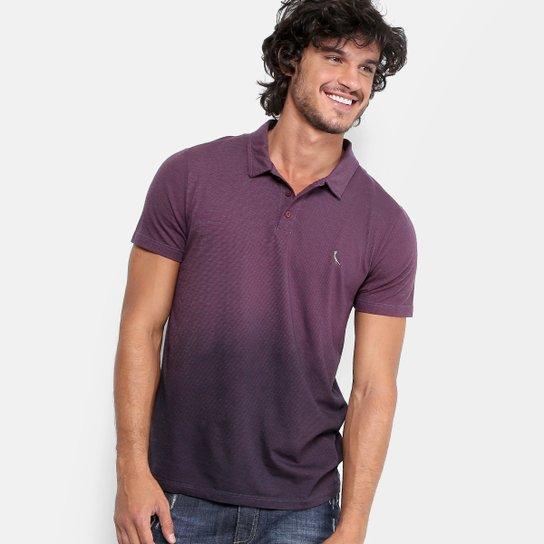 Camisa Polo Reserva Degradê Masculina - Bordô - Compre Agora  5c83cead4cf0c